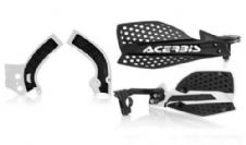 New Acerbis Frame Cover X-Grip YZF 250 450 14-17 X Ultimate HandGuards BLK WHT